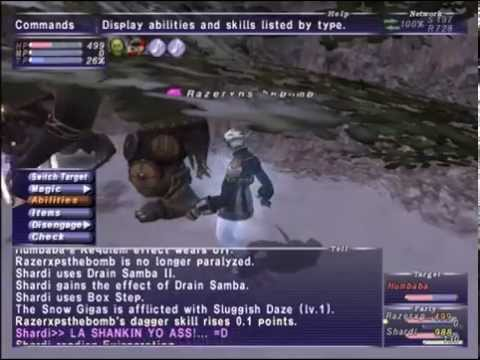 Final Fantasy XI Beaucedine Glacier Notorious Monsters Guide