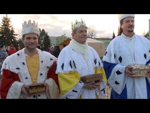 Rychvald - Vánoční jarmark a živý betlém  www.TelevizeKarvinsko.cz
