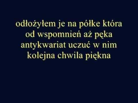 Tekst piosenki Tałi - Antykwariat uczuć po polsku