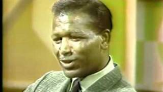 Sugar Ray Robinson Talking after Retirement