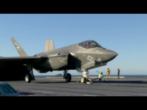 F-35C Lightning II carrier variant...