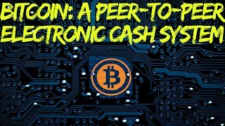 Bitcoin: A Peer-to-Peer Electronic Cash System Part 5 http://www.financial-spread-betting.com/academy/bitcoin.html PLEASE LIKE AND SHARE THIS VIDEO SO WE CAN DO MORE!Moving to a Peer to Peer Electronic Cash system.  Electronic or Digital Currency: Moving to a Cashless System.  What is Bitcoin - the Internet of Value- Central banks may eventually create a purely digital currency issued to it's citizens- It may not be completely transparent- Balances may only be recorded on bank balance sheets- This will probably give even more power to governments and institutions (you won't be able to withdraw money as physical cash)- If the government decides it doesn't like you (perhaps for political reasons) – it could simply switch off your account and remove your moneyRemittance fees - Transfer of money across the world- Information can be transferred quickly across the world using the internet- Credit / debit card fees of 1-3% charged to the merchant (extra if used in foreign countries)- Transfer of money can still be costly and time consuming (up to 12 days) especially for micro-transactions - International payments through a bank-to-bank transfer requires submission of various information (SWIFT, IBAN, BIC codes, forex fees, etc.)- One-off payments more than $1000 USD - $50 / 100 fee is bearable- For a small job of e.g. $50-200 USD – maybe not worth doing!!!Western Union transfers (card to cash) can cost more than 10%- Approximately 2.5 billion people in the developing world you do not have access to banking servicesWeb 3.0 – Internet of valueBitcoin is two things:- A protocol – an agreed system by which information is shared across a network- Unit of money: It can be divided down to eight decimal places.00000001 = 1/100,000,000 = 1 SatoshiThink about what:- Email did to postal service- Internet did to newspapers, publishing, music, television (aspiring journalist can publish on the web for free)