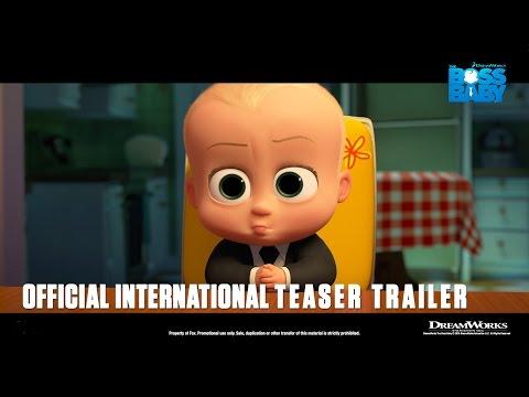 DreamWorks' The Boss Baby [Official International Teaser Trailer in HD (1080p)]R