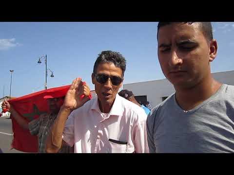 ''الفرّاشة'' المقصيّون من سوق ''جنان فرنسيس'' يحتجُّون