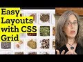 Incredibly Easy Layouts with CSS Grid