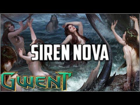 Gwent Siren Nova ~ Bloody Tie ~ Gwent Deck Gameplay