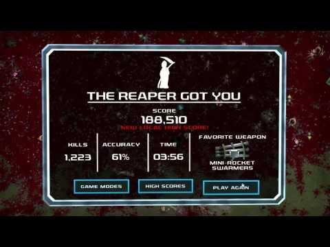 Crimsonland   All Mods   Extreme Play   2x Faster   1080p30