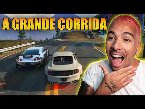 PIUZINHO A GRANDE CORRIDA VALENDO O GTR (MONALISA)!!!!