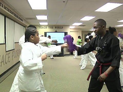 Martial Arts Program Helps Kids Fight Cancer