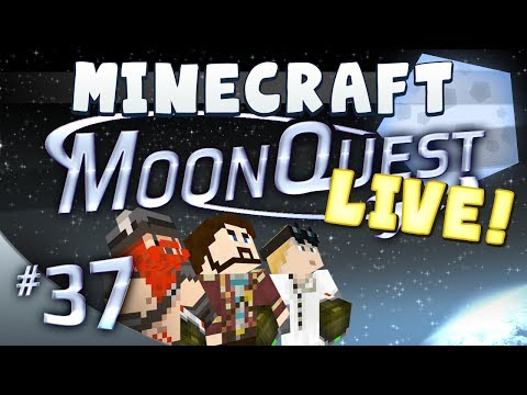 Minecraft Galacticraft - MoonQuest Live 37 - Thinland