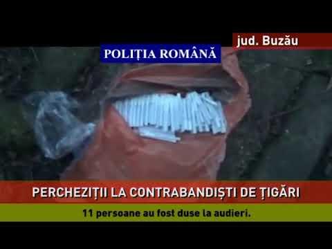 Contrabandişti de ţigări, prinşi