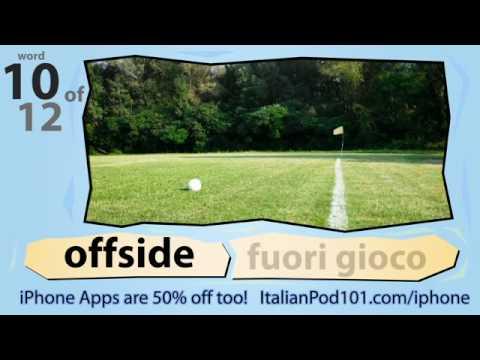 Italienisch lernen mit Bildern: World Cup 2010