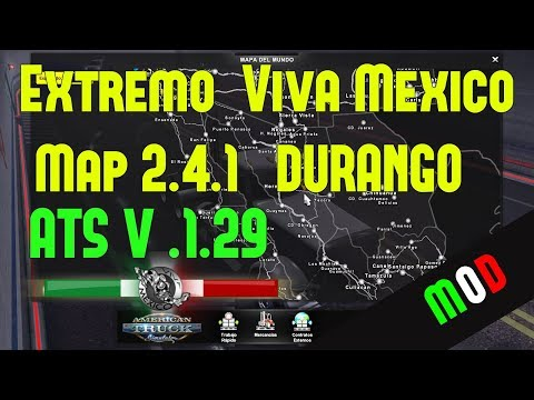Viva Mexico Map v2.4.2 Compatible C2C v2.3 & Canadream v2.4