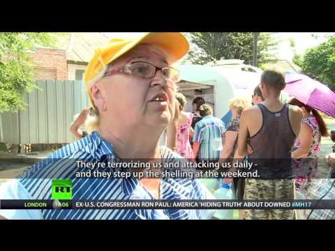 Lugansk Under Siege: Over 250k civilians struggle without water and power