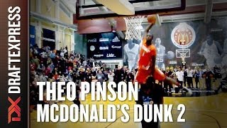 Theo Pinson - 2014 McDonalds All American Dunk Contest - Dunk 2