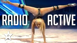 Powerful & Sexy Radioactive Dance audition on Got Talent! Yeva Shiyanova dances to Imagine Dragons Radioactive on Georgia's Got Talent! Got Talent Global bri...