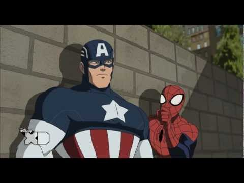 Ultimate Spider-Man | Captain America's Shield - Sneak Peek | Disney XD