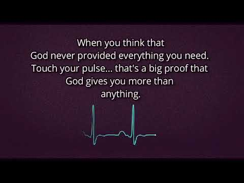 Brainy quotes - God is very and God always with you