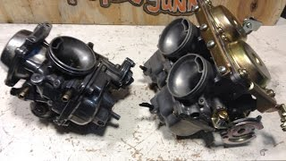 9. Honda Rebel  single carb twin carb swap
