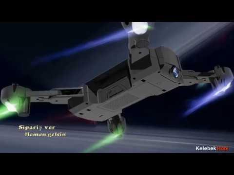 GPS katlanabilir takip et modlu kameralı drone