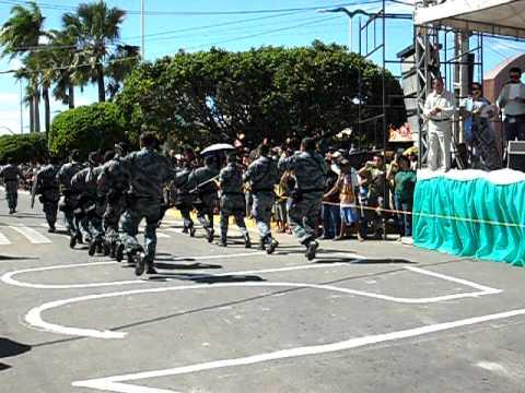 Polícia Militar de Brejo Santo desfila no dia 26 de agosto