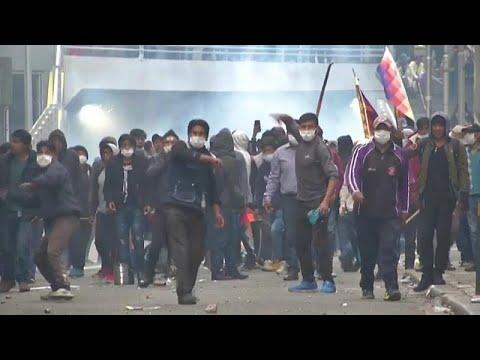 Βολιβία: Νέος κύκλος βίας μετά την ορκωμοσία μεταβατικής κυβέρνησης…