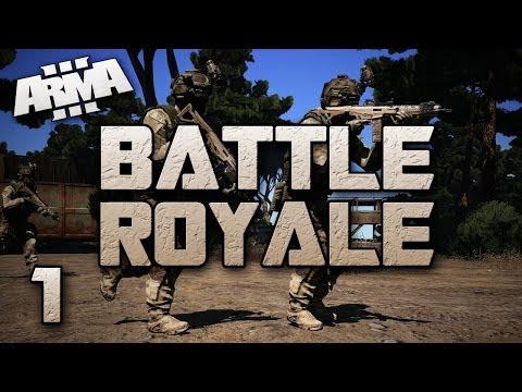 Battle - Myself and some friends are thrust into the ARMA 3 mod of Battle Royale! Basically, a full server of players is dropped from an airplane above the island and must parachute down, land, gather...