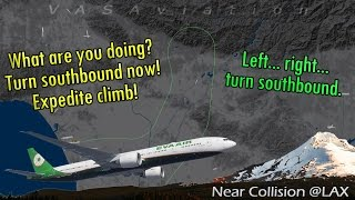 Video [REAL ATC] EVA B77W NEAR COLLISION + TRAFFIC CONFLICT out of LAX! MP3, 3GP, MP4, WEBM, AVI, FLV November 2018