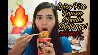 Korean Fire Ramen Noodle 2xFire Challenge India (***EXTREME SPICY***)