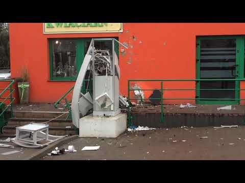 Wideo1: Wysadzony bankomat w Kaszczorze