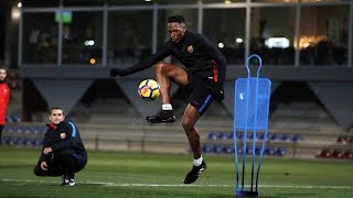 Download Video Yerry Mina First Training Session With FC Barcelona!!! MP3 3GP MP4