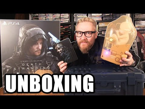DEATH STRANDING COLLECTORS EDITION UNBOXING - Happy Console Gamer