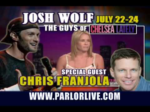 Parlor Live Comedy Club: Bobby Lee, Josh Wolf, Chris Franjola, Henry Cho, Greg Proops