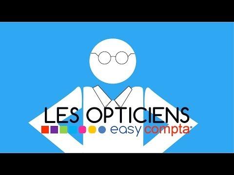 Les Opticiens avec easy Compta
