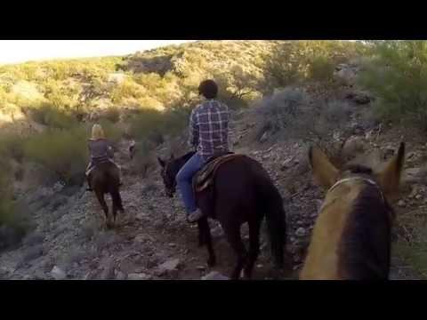 Horseback Riding in Wickenburg Arizona 11/30/2013