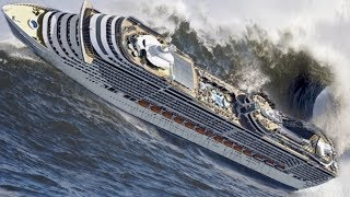 Video TOP 10 SHIPS in STORM! Incredible Monster Waves! A Video You Must See! MP3, 3GP, MP4, WEBM, AVI, FLV Februari 2019