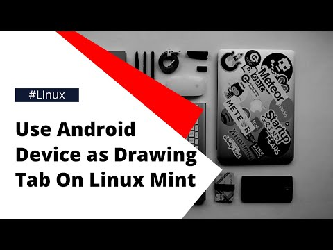 Use Android device as Graphics tablet for Linux or PC-via USB