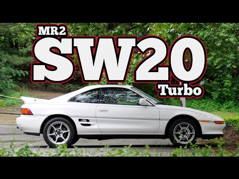 Regular Car Reviews: 1991 Toyota MR2 SW20 Turbo