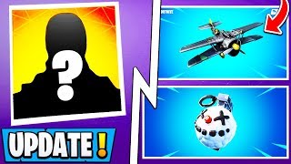 *NEW* Fortnite 7.30 Update! | Early Patch Notes, Snowfall Skin, Planes!