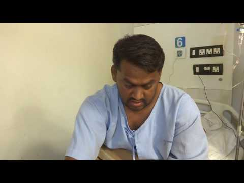 Mr. Roopesh Kumar gets treatment for Rectal Prolapse