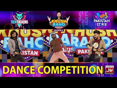 Dance Competition In Khush Raho Pakistan Season 5 | Tick Tockers Vs Pakistan Star | Faysal Quraishi