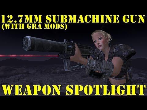 Fallout New Vegas: Weapon Spotlights: 12.7mm Submachine Gun