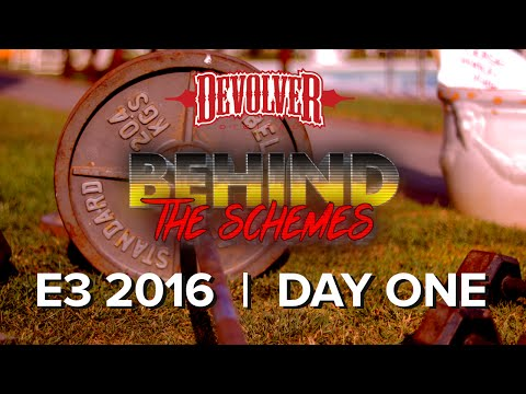 Devolver Behind The Schemes @ E3 2016 DAY ONE