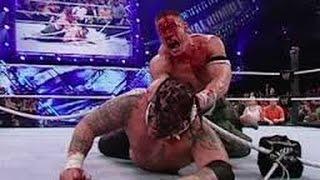 JOHN CENA VS UMAGA Most Bloodiest Match WWE No Mercy 2007 FULL Match