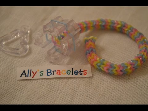 NEW Finger Loom Tutorial | Nautique | Rainbow Loom