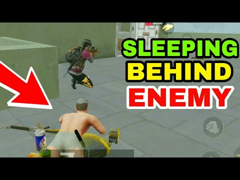 SLEEPING BEHIND ENEMY IN PUBG MOBILE | PUBG MOBILE TROLLING MONTAGE #14