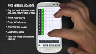 Ezy Golf Scorecard FREE YouTube video