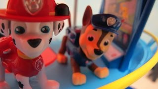 """In this video I unbox and assemble Paw Patrol's Lookout Playset. This set includes the lookout tower with a fire poll, elevator, periscope and slide. It also includes Chase the Police Pup and his police SUV.Marshall the Fire Pup joins Chase to help in the lookout. He brings his fire truck doghouse to help with rescues.Check out my other fun toy videos:Watch Playing with the Riplash Flyers from Disney Movie Planes Fire and Rescue. We have the Skipper and Dusty Riplash Flyers.""""http://youtu.be/pLSOYiihqEs""""Unboxing 5 Pack Shopkins Small Mart with Hidden Shopkin""""http://youtu.be/EgpZleCzmj8""""Unboxing and Playing Spiderman Villain Showdown""""http://youtu.be/ythIXRIWyU4""""Opening 8 Transformers Rescue Bots Playskool Heroes""""http://youtu.be/Yc03l9Z8H-c""""Review of Bumblebee Transformer Rescue Bot Playskool Heroes""""http://youtu.be/zAk83z3iNrk""""Playing Disney Sofia The First Forest Playset""""http://youtu.be/9gYcPLm6QiI""""Opening Shopkins 12 pack Shopkins Small Mart""""http://youtu.be/_JW85iERzb8""""Watch Assembling and Playing the Design And Drift Speedway Track Set With Micro Drifters Lightning McQueen and Dinoco Cars""""http://youtu.be/AEhokIcYRGU""""Unboxing Disney Fairies Tink's Bling Boutique with Tinker Bell""""http://youtu.be/ccYSH2YIkj4""""Unboxing Doc McStuffins Doctor's Bag Set""""http://youtu.be/qtxCtPUX6kw""""Unboxing the Play Doh Doctor Drill 'n Fill Toy""""http://youtu.be/D_yyhWqTNr0""""Shopkins 5 Pack With Hidden Shopkin Opening""""http://youtu.be/GSeBRWffKFg""""Playing Disney Princess Palace Pets Pamper and Beauty Salon""""http://youtu.be/6WMJEdnfqkM""""Opening 4 Blind Pack Surprise MashEms from Disney Pixar Movies""""http://youtu.be/HwTwORxqrQ4""""Playing Stunt Racers Mater, Lightning McQueen, Jeff Gorvette""""http://youtu.be/le-5UyhJqw4"""""""