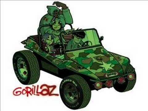 Tekst piosenki Gorillaz - M1A1 po polsku