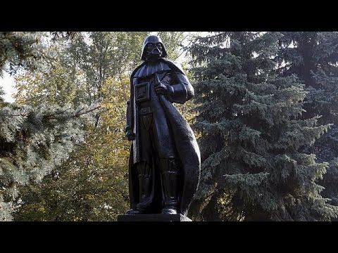 Ουκρανία: Ο Λένιν έγινε Νταρθ Βέιντερ